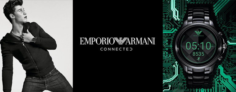 Emporio Armani Connected Smartwatch watches