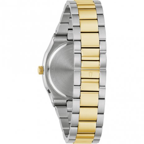 Bulova watch bicolor