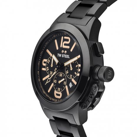 TW Steel watch black